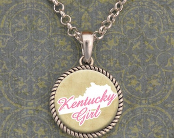 Kentucky Girl Stuck On You Necklace - SOY56066KY