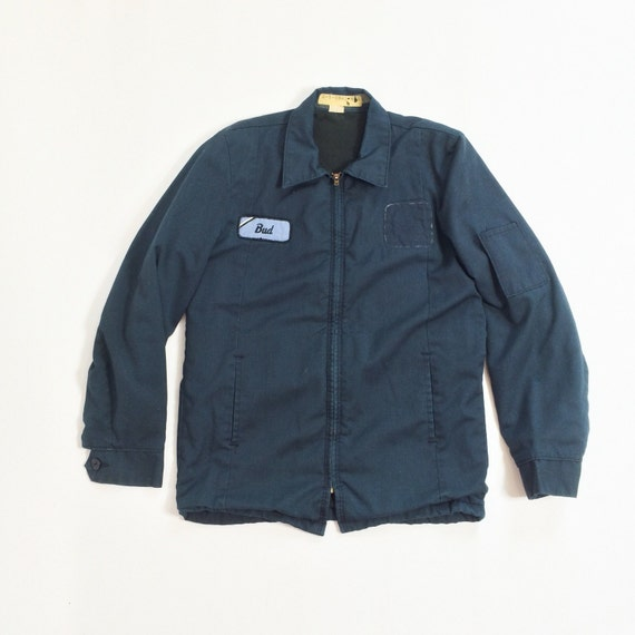 70s BUD Work Jacket Mens Small 40 American WORKWEAR Mechanics