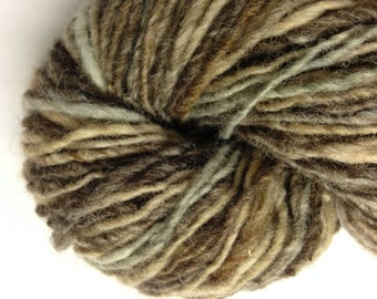 Noro Kureopatora 100% wool self striping worsted weight yarn (6 taupes, browns, grays)