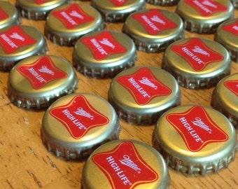 50 Miller High Life Bottle Caps