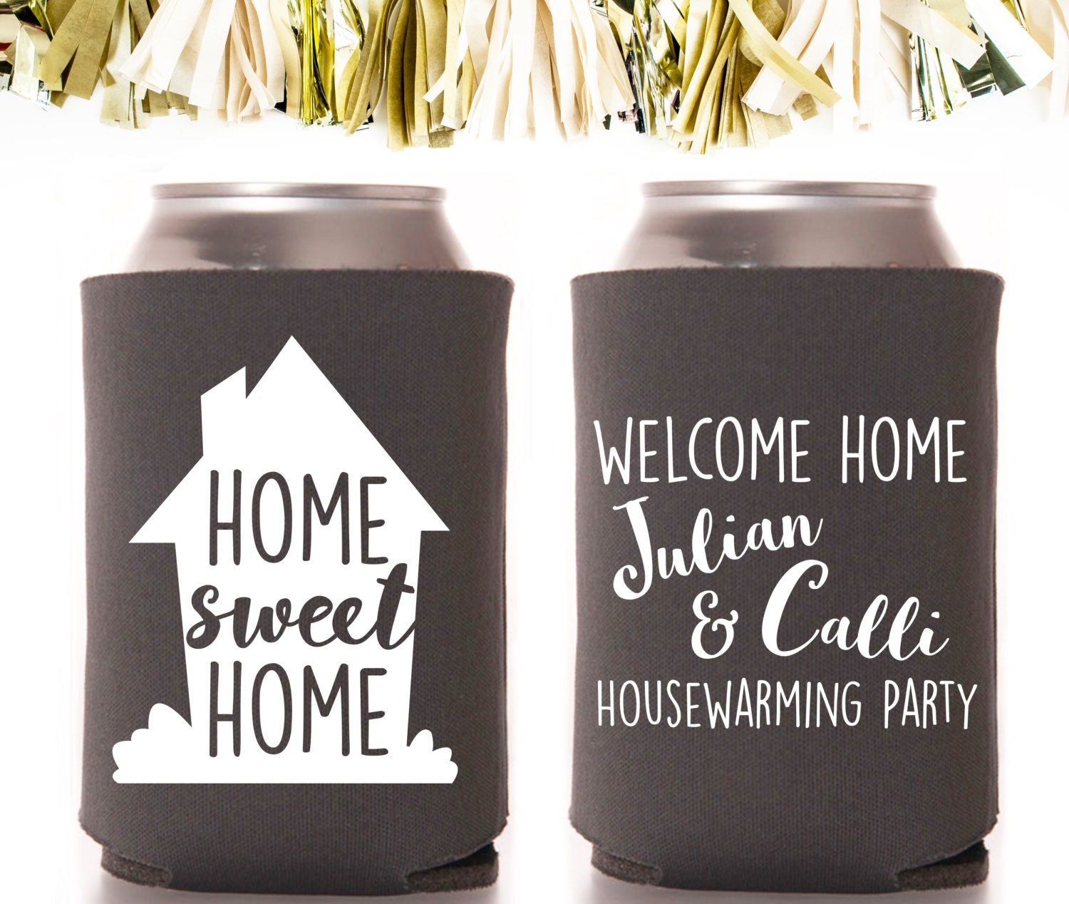 Housewarming Home Sweet Home Party Favors: by CoffeltDesigns
