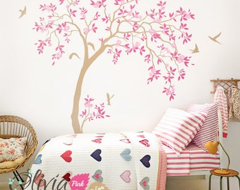 Nursery Tree Wall decals for  Decoration -  Beautiful Wall Decals  - Beautiful tree decals -  NT047