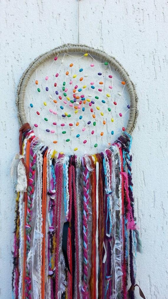 Gypsy Dreamcatcher Boho Decor Bohemian Dream By Handmadebyfofo