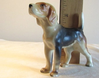 Porcelain Dog Figurine, Foxhound Figurine, Dog Collector, Fathers Day Gift, Gift for Him, Dog Lover