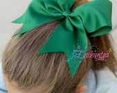 Solid Cheer Bows (1 Bow) Rainbow, Red, Orange, Yellow, Green, Blue, Indigo, Violet, Purple, and Pink