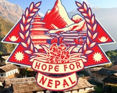 Hope For Nepal T-Shirt PREORDER