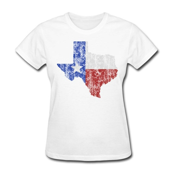 Women 39 s texas vintage style t shirt dallas by texasvintagetees for T shirt printing fort worth