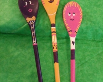 Wooden spoons - garden or flower pot sticks