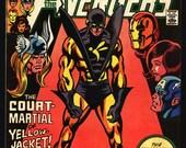 Mighty AVENGERS #213 Jim Shooter,Gene Colan,Bob Hall, Yellow-Jacket Court-Martial, Captain America, Iron Man, Thor,