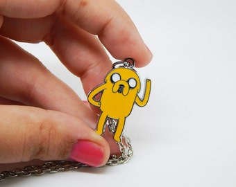 Jake the Dog Adventure Time pendant gift Jewelry Necklace