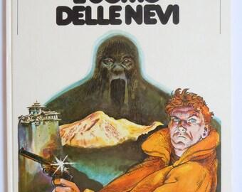 Milo Manara Vintage Comic Book L'Uomo Delle Nevi Italian Language Abominable Snowman Comic 1978