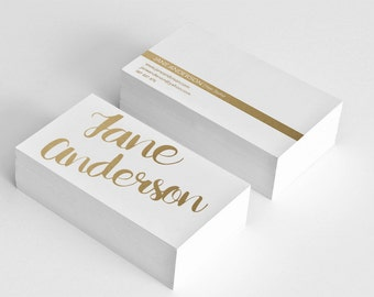 Golden business card template hair stylist business card design gold business card printable custom business cards, digital, graphic design
