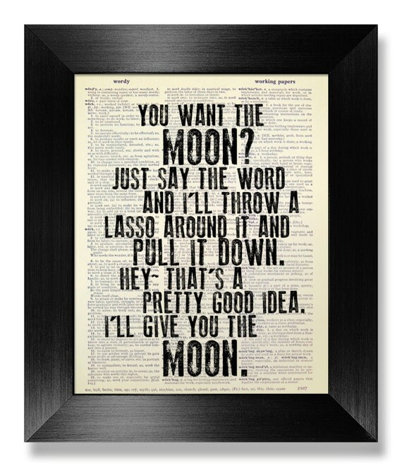 Wonderful Life Quotes Beauteous Its A Wonderful Life Quote Print Art Anniversary Gift Man