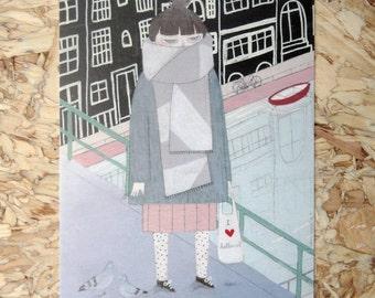 Gretting Card 'I Love Holland'