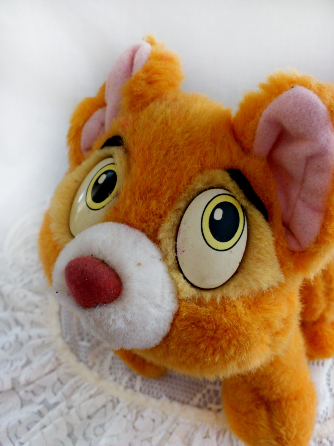 Vintage Cat from Oliver and Co Stuffed Disney PLUSH TOY 22 cm