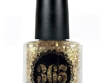 Gold Shred Glitter Nail  - Gilt