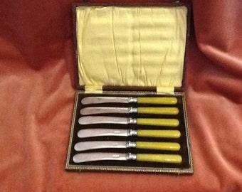Vintage butter knives
