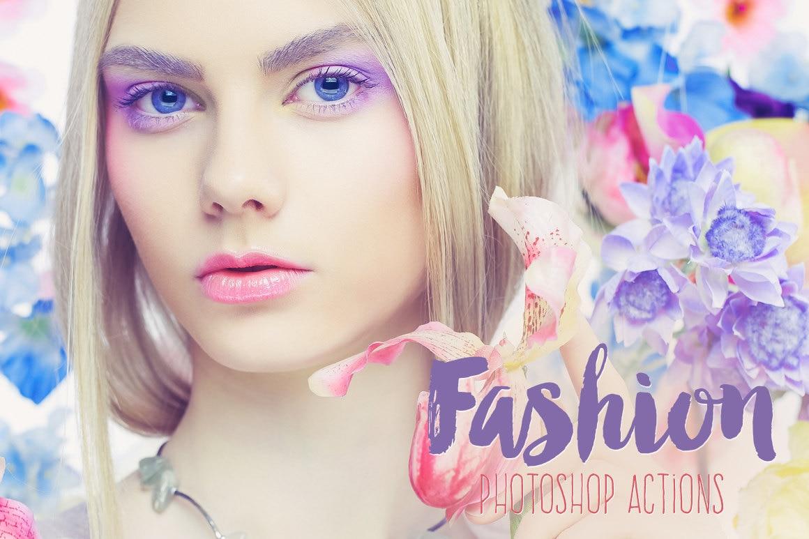 Fashion Beauty Magazine Photoshop Actions Premium