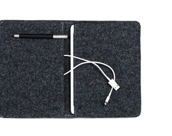 iPad Pro case, iPad Pro folio, felt iPad Pro case, Gopher