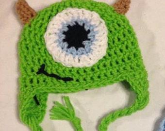 Mike Wazowski Inspired Hat