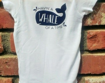 Whale / Beach / Girl / Boy Onesie