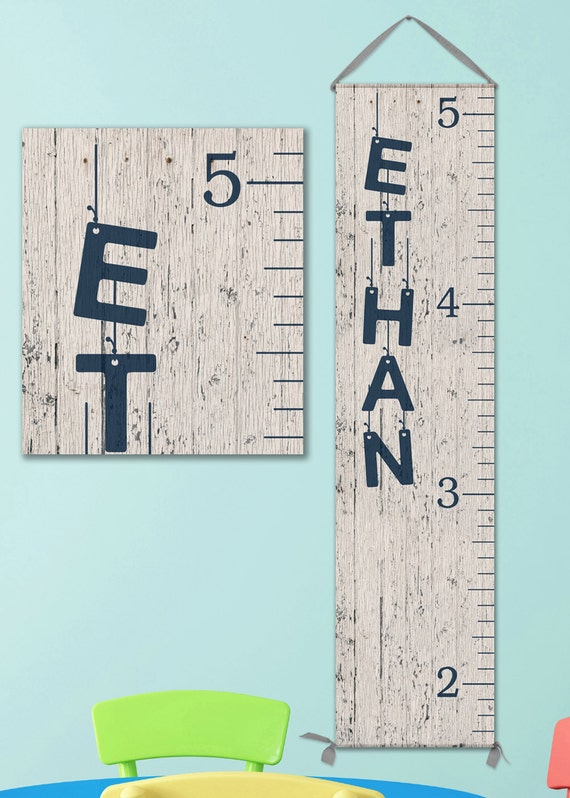 wooden ruler growth chart canvas growth chart wooden height ruler baby