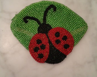 Lady Bug Coin Purse