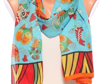 Beach scarf summer scarves womens scarves turquoise scarf beach pareo womens fashion scarves gift Ideas for womens accessories Scarf Shawl