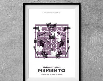 Memento Alternative Movie Poster - Icon Artwork