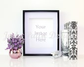 50%OFF Print Mockup / Styled Desktop Product Photography / Empty Frame Product Mockup / Styled Stock Photography / Product Background /Frame