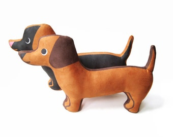 Dachshund Plush Pillow
