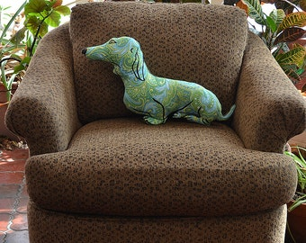 decorative pillow, dog pillow, animal pillow, dachshund dog shaped big pillow chair sized doxie shaped pillow