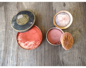 1920's Rouge Compact Set - Max Factor and Elmo