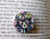 Frida's Immortal Tears Third Eye pin