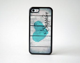Personalized iPhone Case + Monogram iPhone Case + Rustic Wood iPhone 6 Case, iPhone 6 Plus, 6+ Case