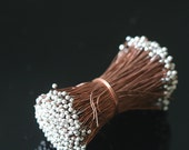 """1.5""""  Silver Headpins and Copper Headpins - Copper Jewelry Findings - Jewelry Making Supply - (20 or 40 Pieces -  26g"""
