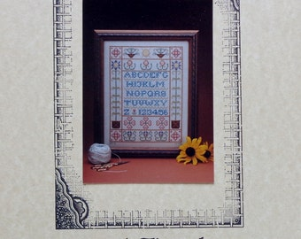 Betsy C Stinner SUN'S BOUNTY SAMPLER By Earth Threads - Counted Cross Stitch Pattern Chart