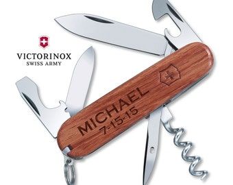 Victorinox Huntsman Swiss Army Personalized Groomsman Gift