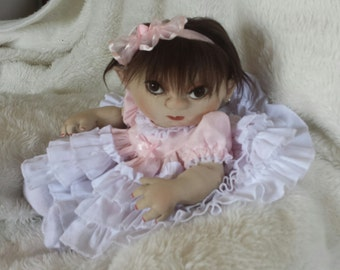 """Realistic 12""""  Soft Sculpture Baby"""