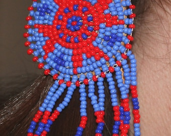 Authentic Indian Hand Beaded Hair Ties
