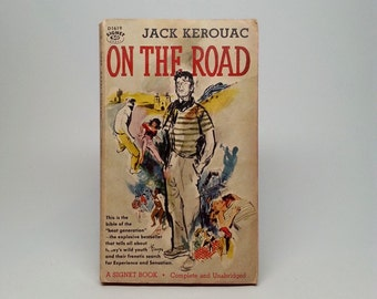 On The Road by Jack Kerouac First Paperback Edition Signet D1619 1st Printing 1958