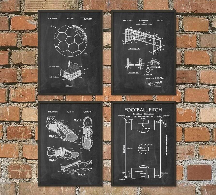 soccer wall art roselawnlutheran. Black Bedroom Furniture Sets. Home Design Ideas