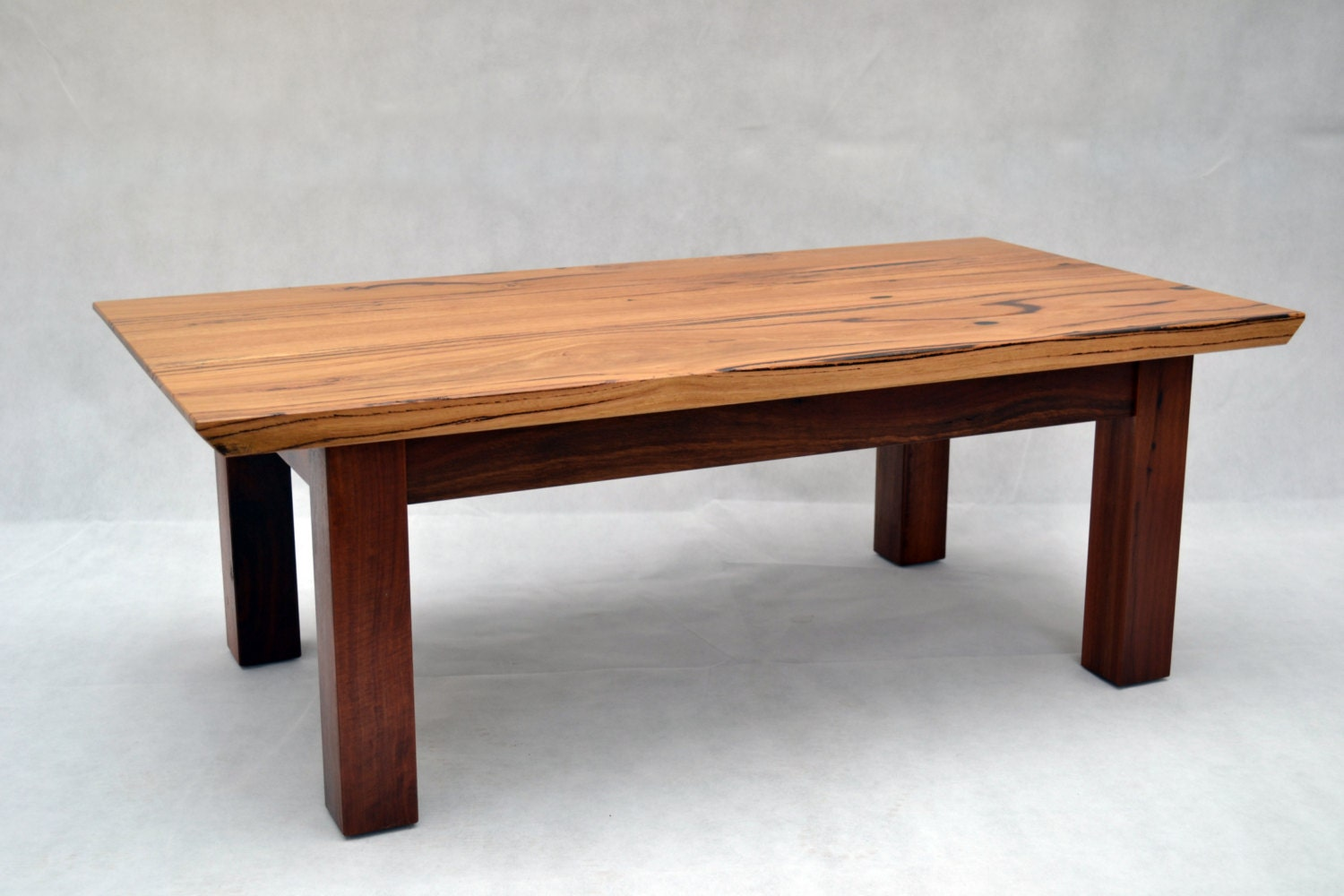 Coffee Table Recycled Australian Timbers Japanese Inspired