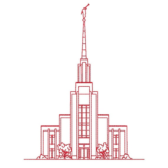 Lds Temple Template Lds Temple Coloring Pages