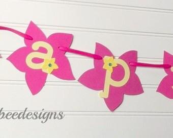 Luau Hawaiian banner, Aloha Baby banner, Hawaiian I am one banner, Luau Hawaiian birthday party, Luau baby shower, Hawaiian party decor