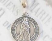 Medal - Sainte Sarah & Saintes Maries - Sterling Silver - 23mm