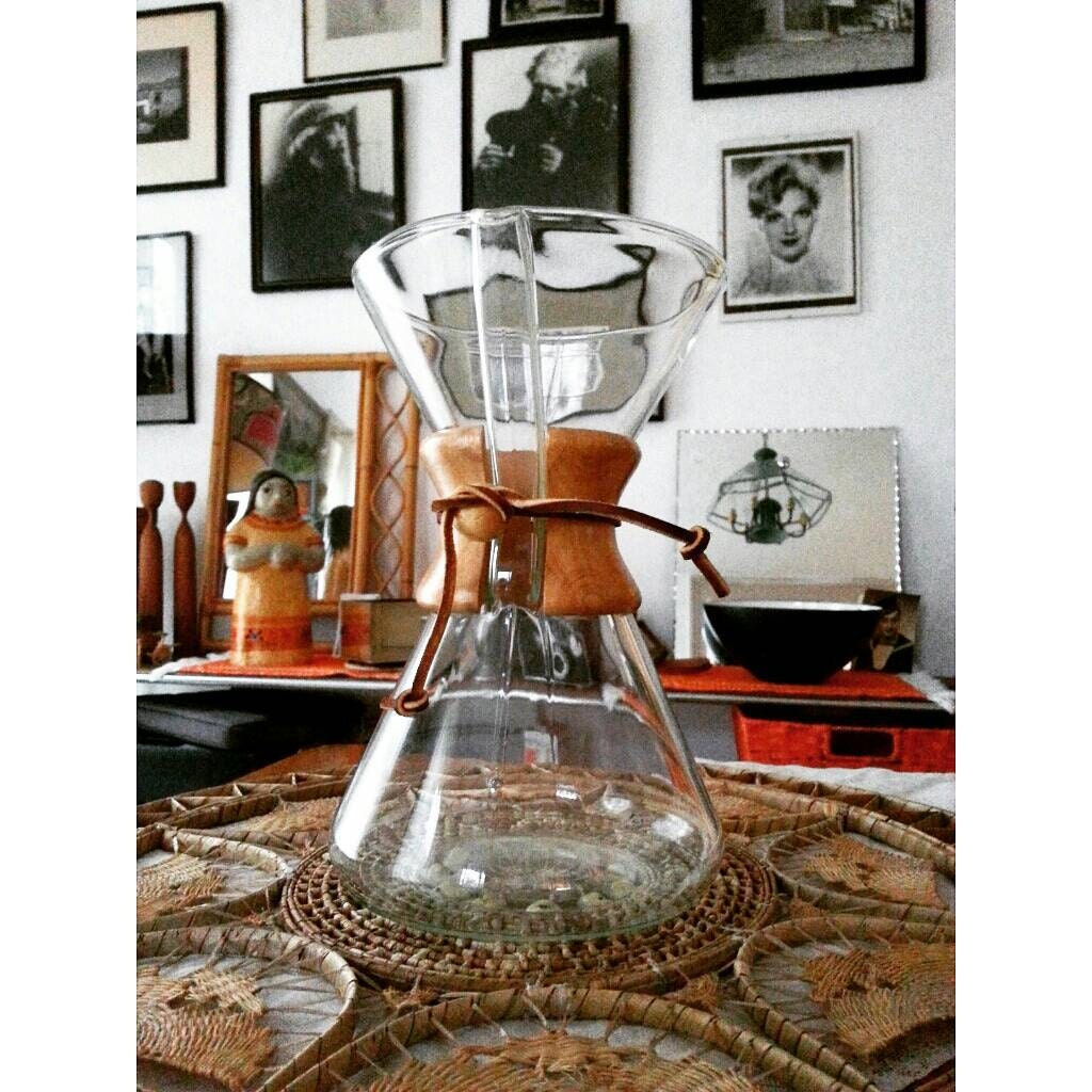 original vintage chemex coffee maker made in by PropsandPieces