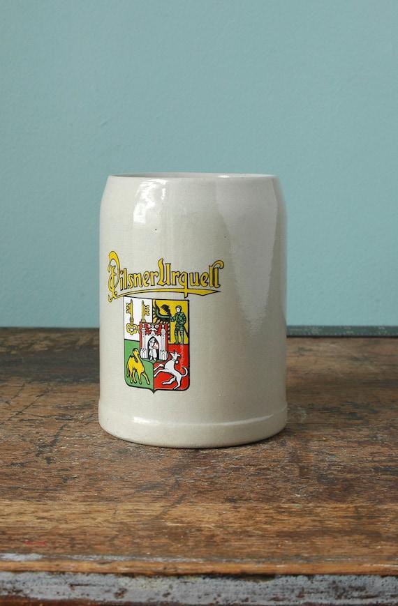 Pilsner Urquell Gerz Beer Stein Made In Germany Mug 0 5 L