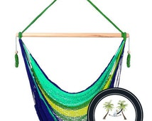 Caribe Hammock Chair - 100% Hand Woven - Perfect for one child, teen or adult!
