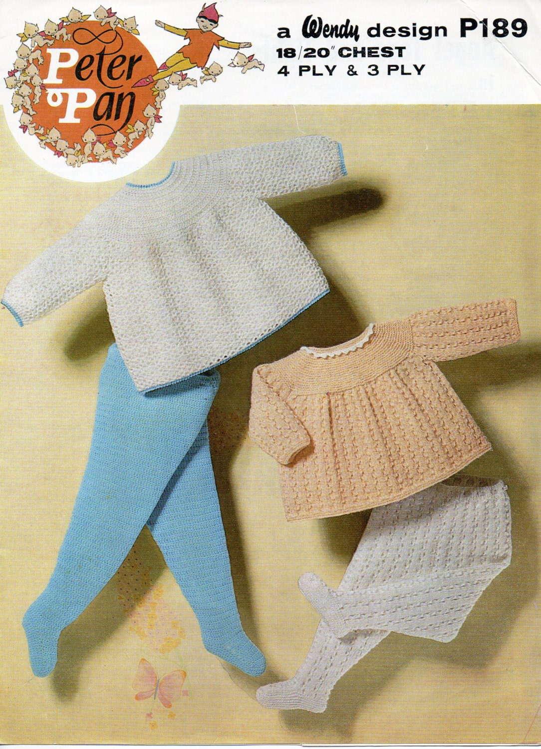 Free Knitting Patterns For Angel Babies : Baby crochet pattern baby knitting pattern baby angel tops